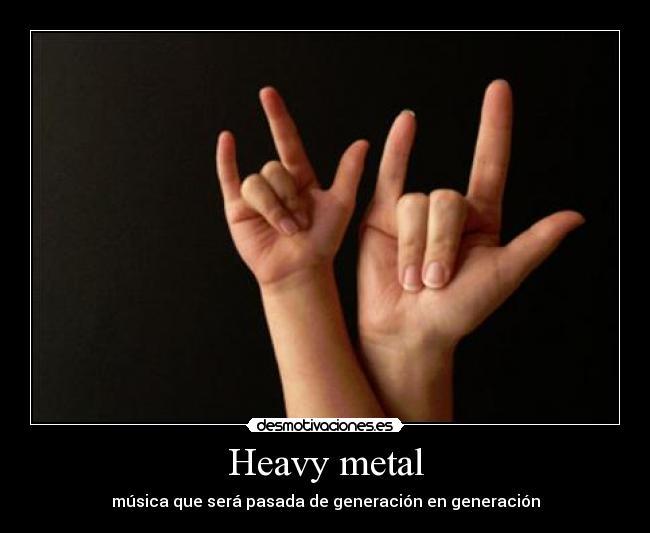 Desmotivaciones Metaleros