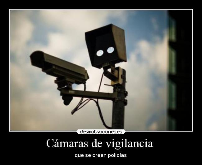 carteles camaras vigilancia desmotivaciones