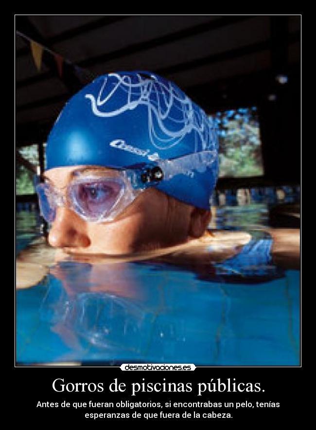 Im genes y carteles de gorros pag 2 desmotivaciones - Gorros de piscina ...