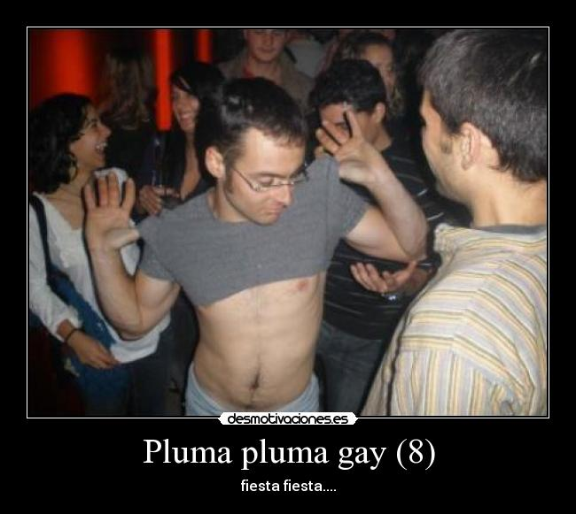 fiesta pluma gay cancion original