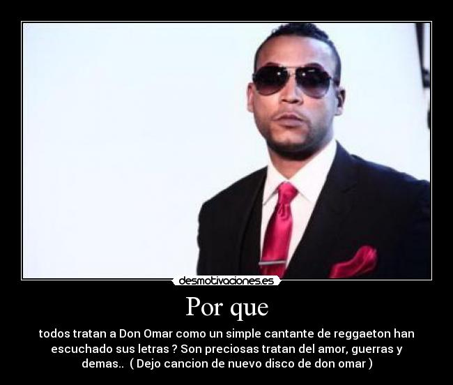 ver el video de don omar el de: