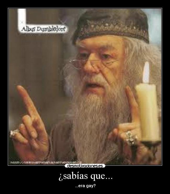 La homosexualidad de Dumbledore sigue despertando