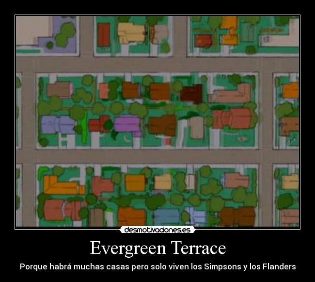 Los simpsons curiosidades taringa for Evergreen terrace 742