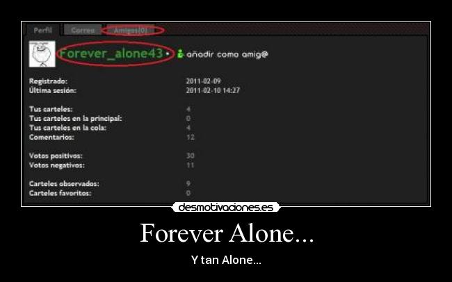 Forever Alone... - Y tan Alone...