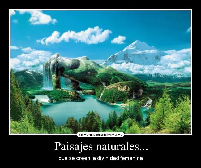 paisajes naturales wallpaper. Paisajes naturalesLa cola