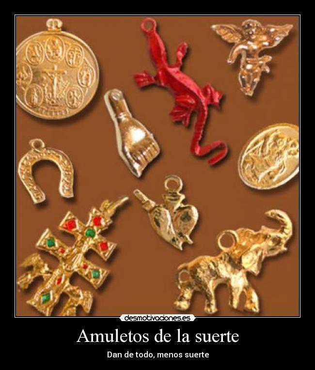 Amuletos de la suerte desmotivaciones - Rituales para sacar la mala suerte ...
