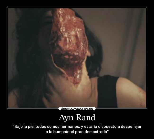 Ayn Rand - Sexo, Estupro e Submissão