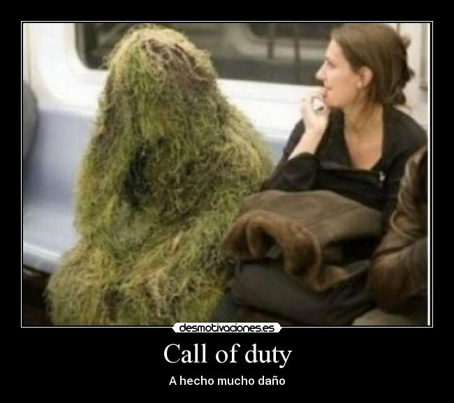 Call of duty - A hecho mucho daño