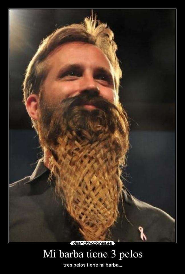 Distintos modelos de barbas y bigotes,eliga usted