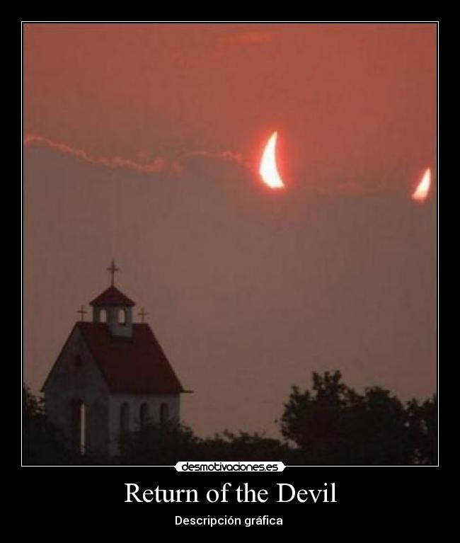 carteles return the devil desmotivaciones
