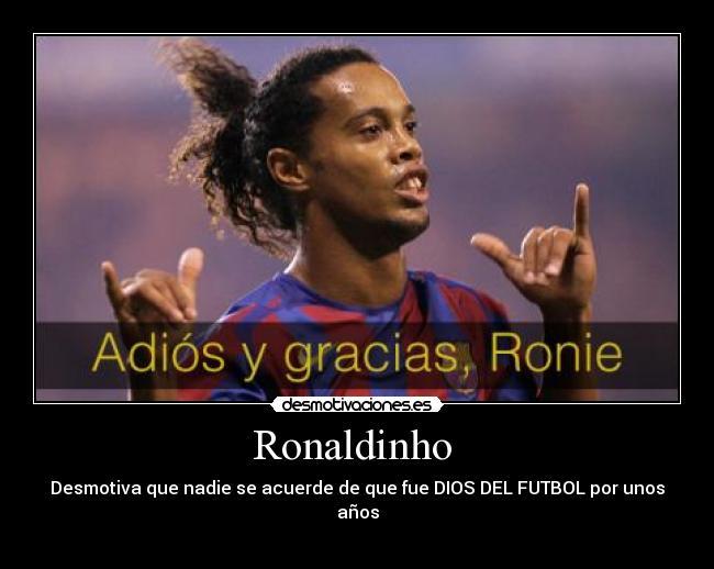 Ronaldinho: La magía de un crack
