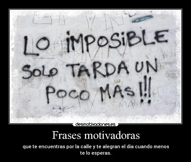 Frases motivadoras | Frases de motivación deportiva