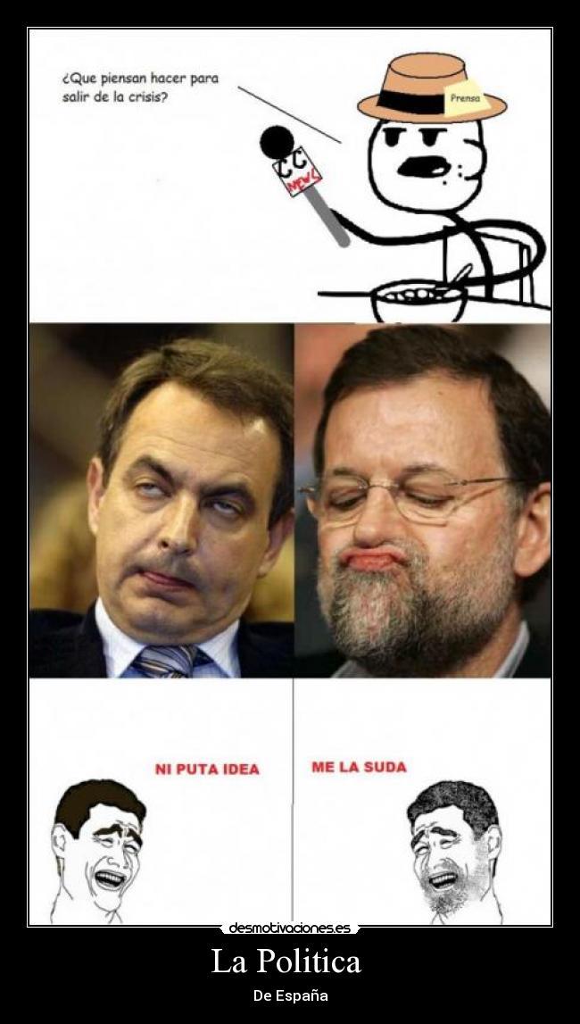 Imagenes de Politica que desmotivan!