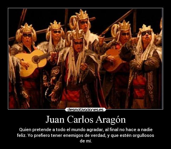 Juan Carlos Aragón Desmotivaciones