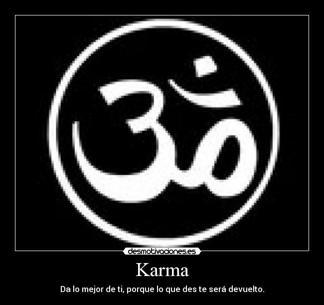 carteles karma desmotivaciones