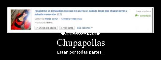 Deportes chupapollas
