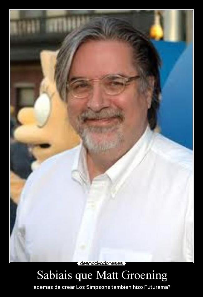 the successes and failures of matt groening Mosaic , john r maxim, jan 1, 2000, fiction, 448 pages a topsecret government hopes to use multiple personality disorder to create.