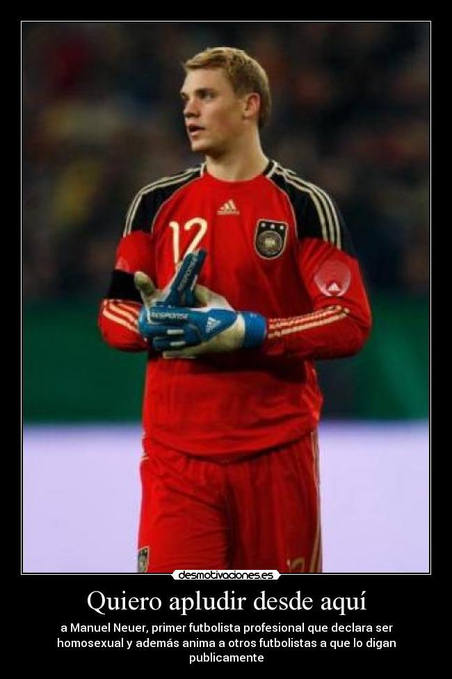 carteles alemania futbol portero neuer desmotivaciones