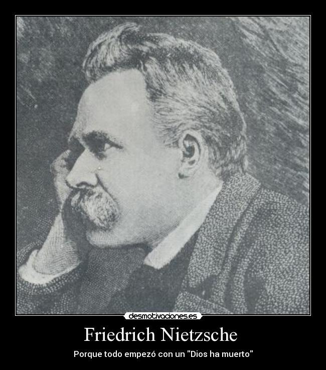 friedrich wilhelm nietzsche: