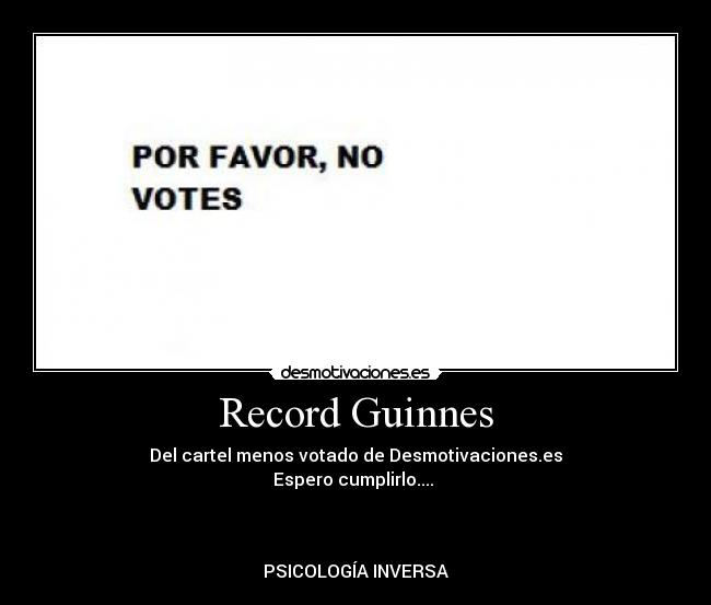 Record Guinnes -