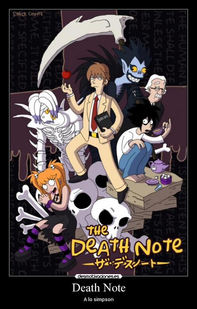 Death Note - A lo simpson