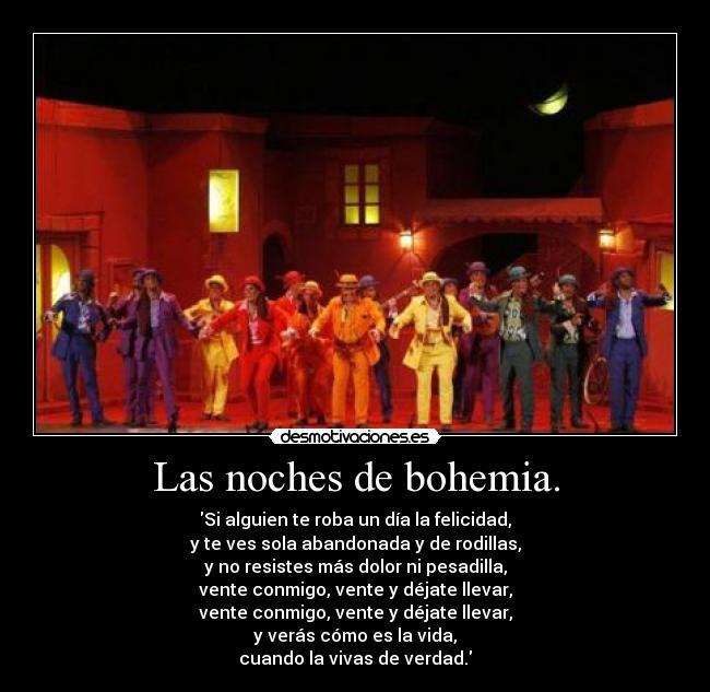Vida Bohemia Frases