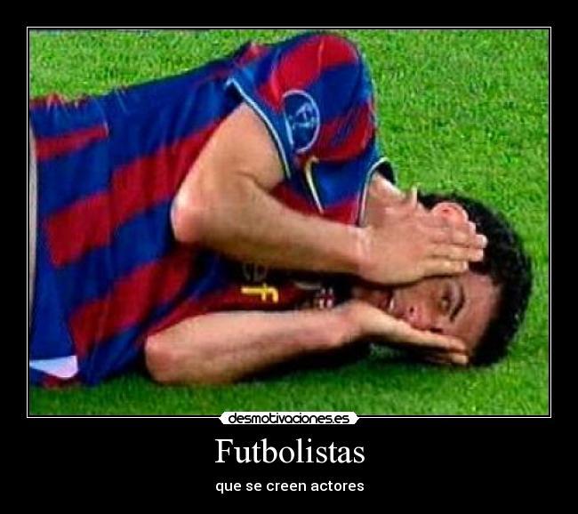 carteles futbolistas creen actores busquets desmotivaciones