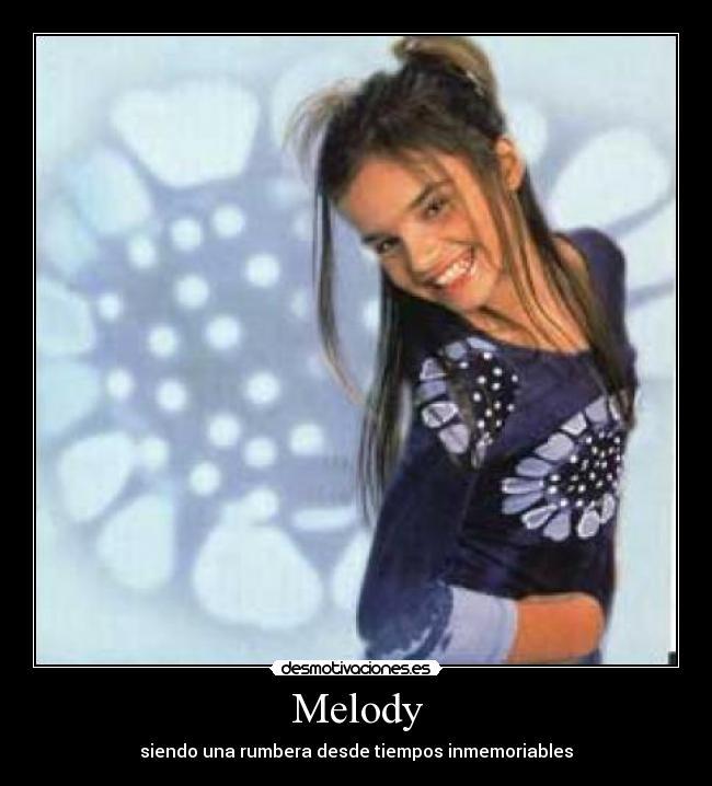 soy una rumbera melody