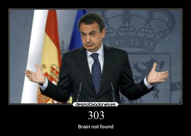 303 - Brain not found