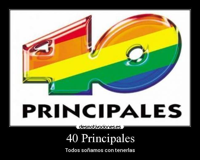 40 principales espana: