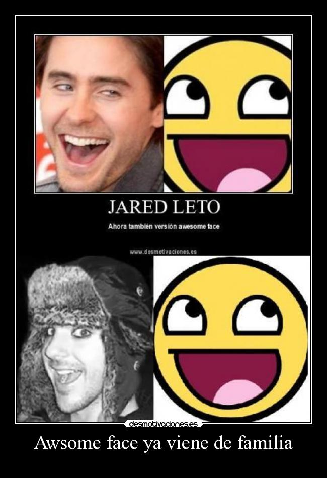 carteles familia jared shannon leto seconds mars desmotivaciones