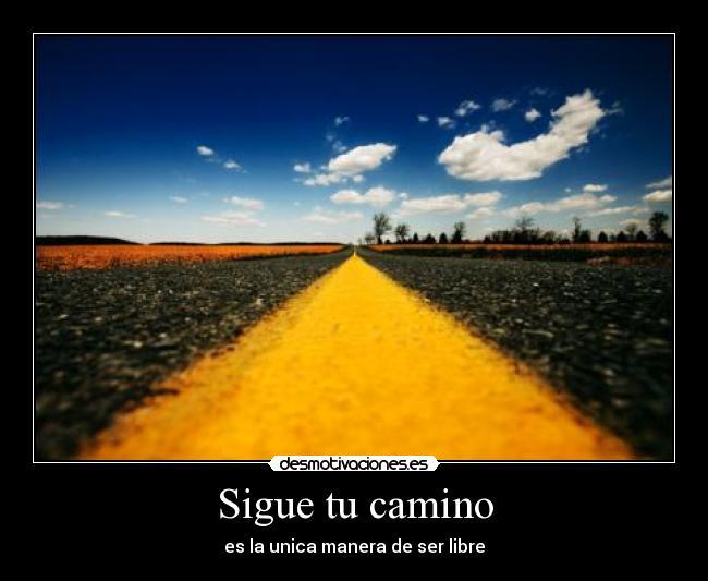 Sigue Tu Camino Desmotivaciones
