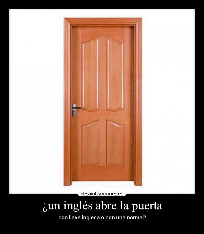Puerta en inglés