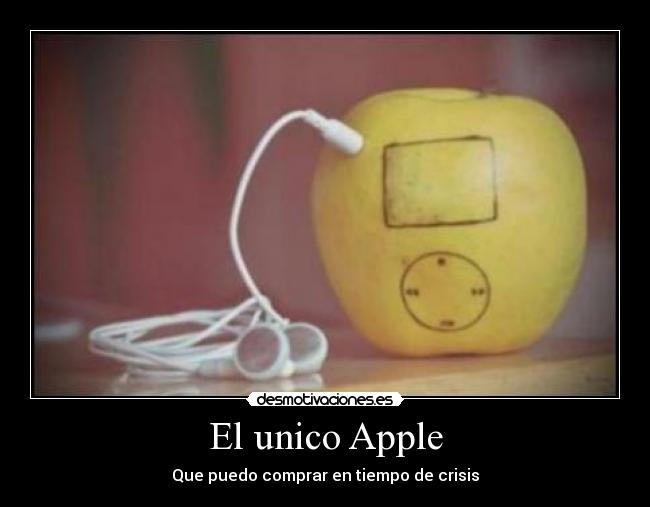 El unico Apple -