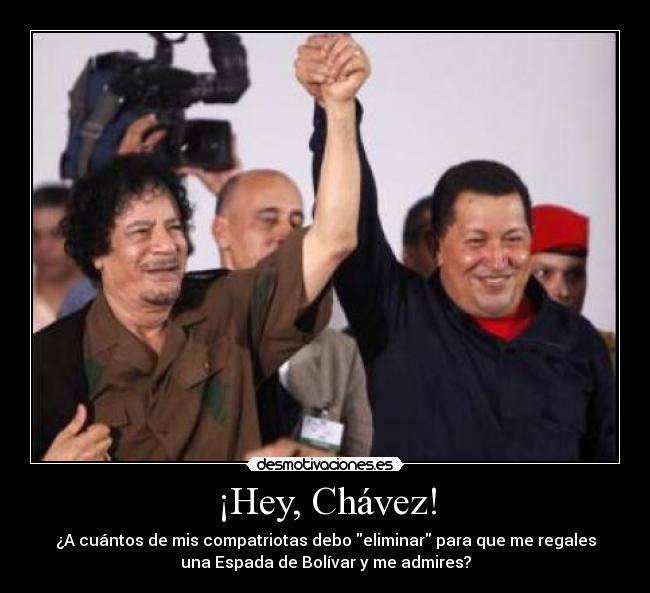 carteles chavez libia bolivar desmotivaciones
