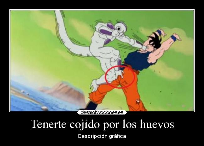 carteles goku freezer dragon ball descripcion grafica desmotivaciones