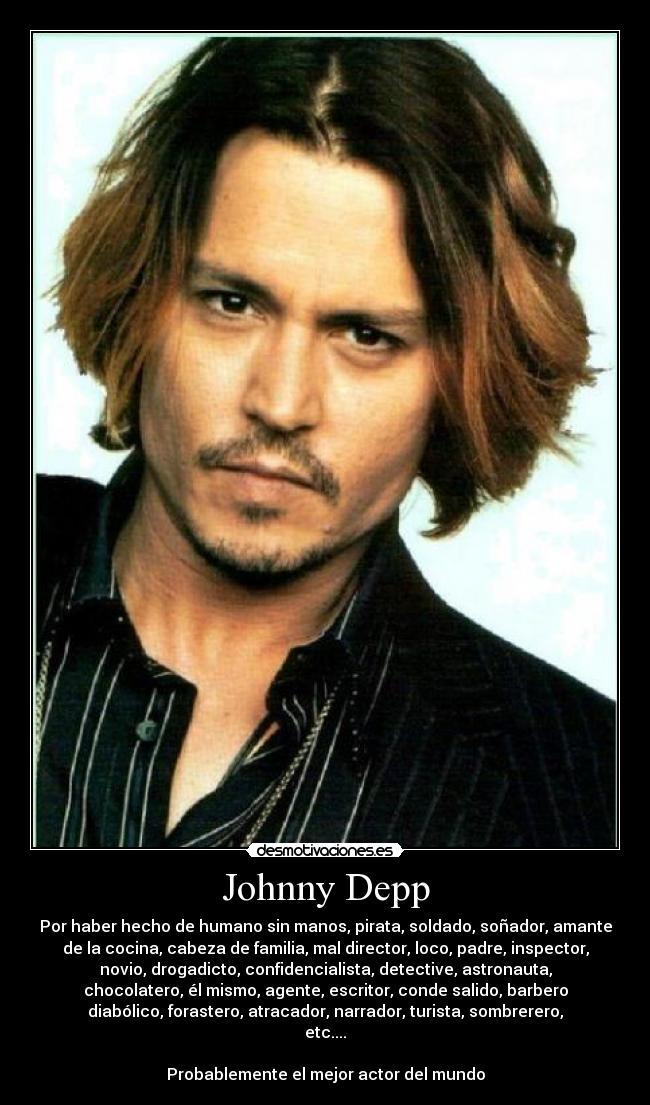 似合う髪型 大きい顔似合う髪型 : Johnny Depp