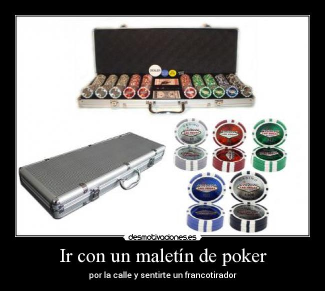 Carrefour poker maletin