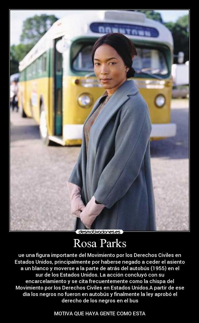 Rosa Parks Desmotivaciones