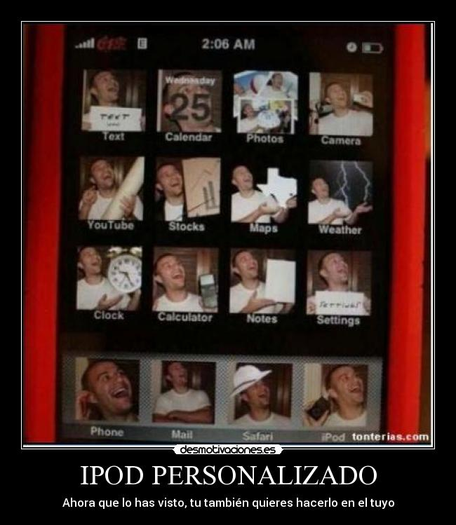 carteles gilipollas iphone ipod desmotivaciones