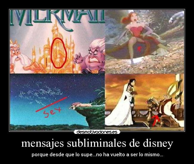 Mensajes Subliminales De Disney