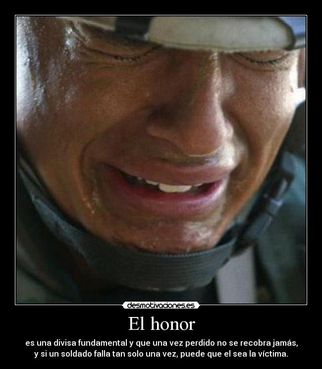 El honor -