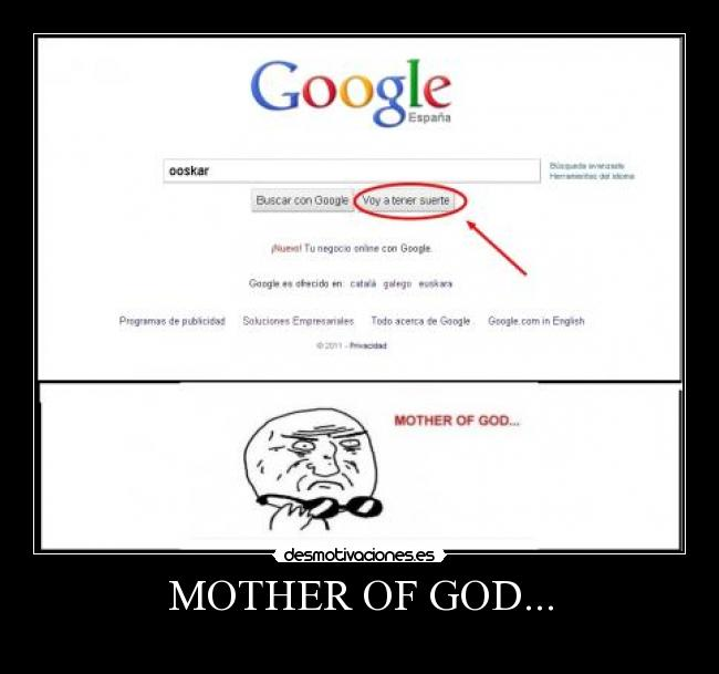 MOTHER OF GOD... -