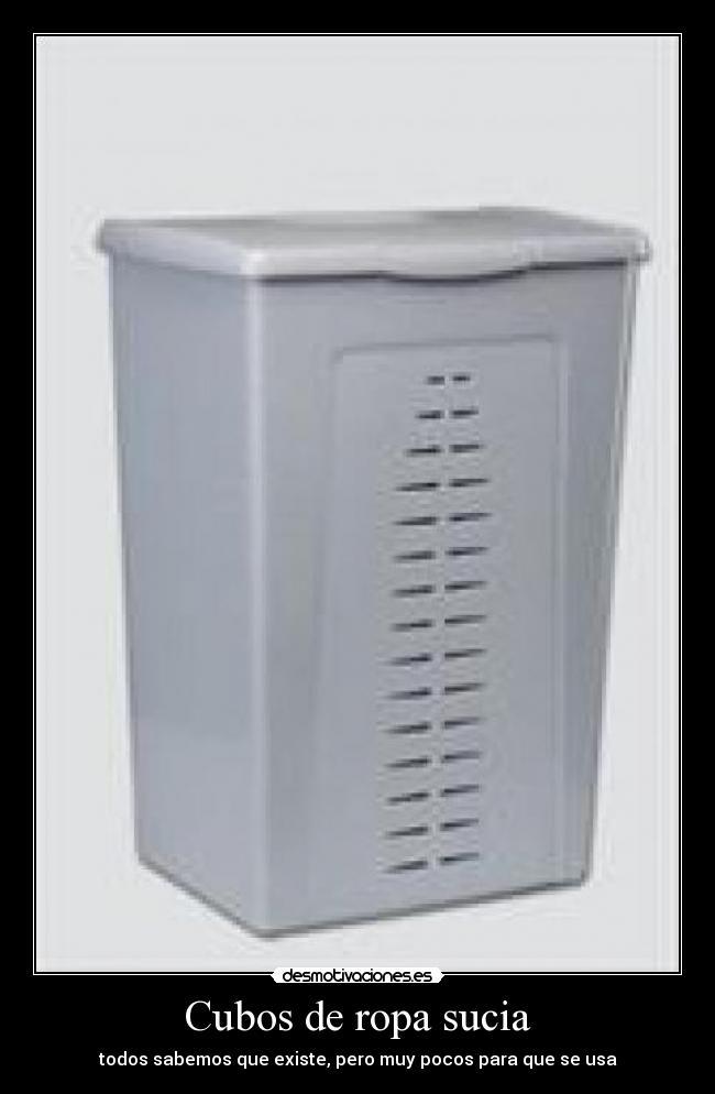 Cubos de ropa sucia desmotivaciones - Cubos para la ropa sucia ...