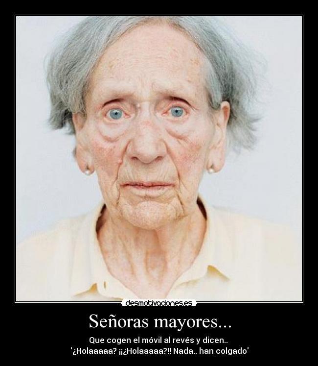 Senoras mayores