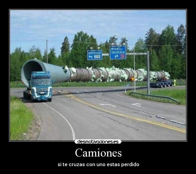 Camiones Desmotivaciones