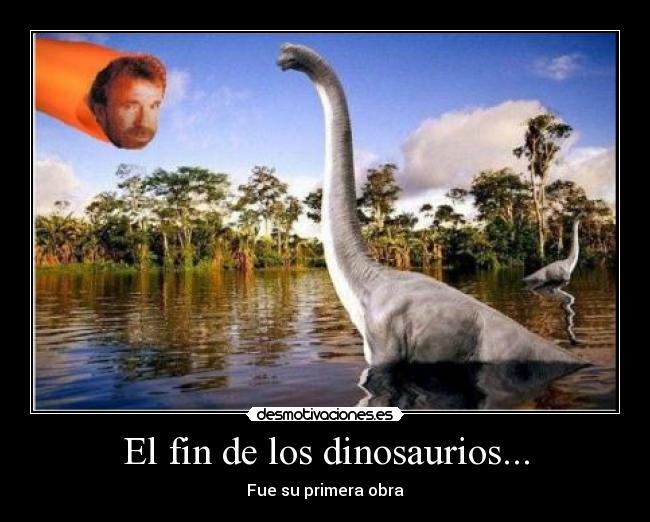 el fin de los dinosaurios desmotivaciones