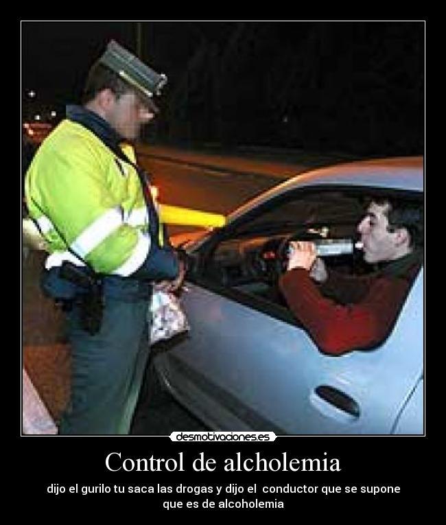 Control de alcholemia | Desmotivaciones