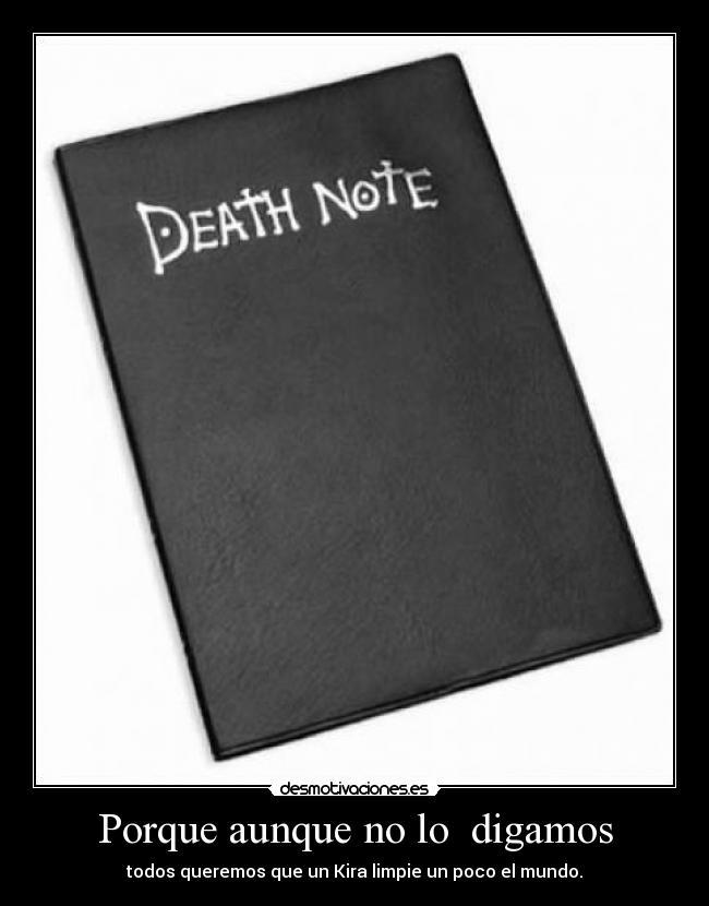 Desmotivaciones Y Motivaciones Death Note