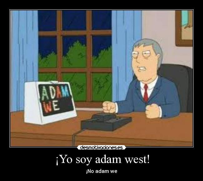Resultado de imagen de alcalde adam west